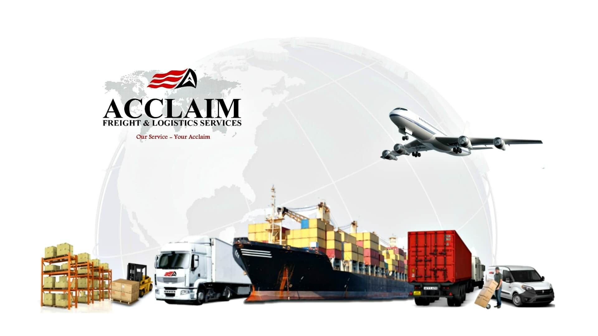 Acclaim Freight & Logistics Services Header Image